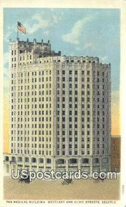 Medical Building - Seattle, Washington WA Postcard
