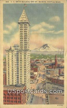 LC Smith Building - Seattle, Washington WA Postcard