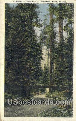 Woodland Park - Seattle, Washington WA Postcard