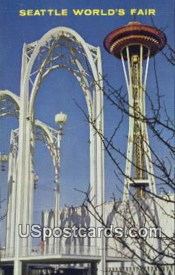 World's Fair - Seattle, Washington WA Postcard