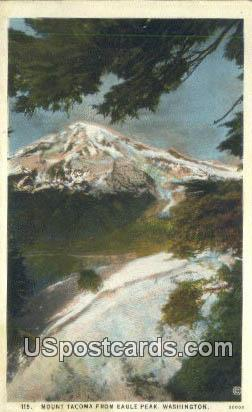 Mount Tacoma - Eagle Peak, Washington WA Postcard