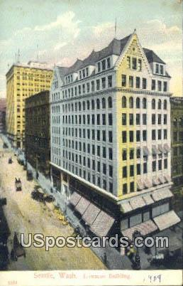Lowman Building - Seattle, Washington WA Postcard