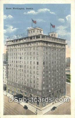 Hotel Washington - Seattle Postcard