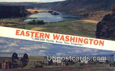 Eastern Washington, WA Postcard      ;      Eastern Washington, Washington - Eastern Washington Postcards