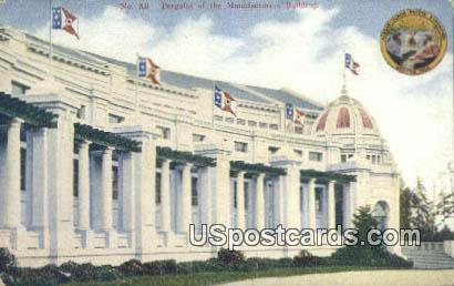 Exposition Seattle 1909  - Washington WA Postcard