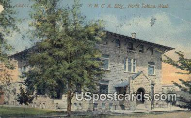 YMCA Building - North Yakima, Washington WA Postcard