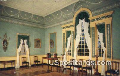 Banquet Hall - Mount Vernon, Washington WA Postcard