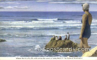 Long Beach, Washington Postcard     ;      Long Beach, WA
