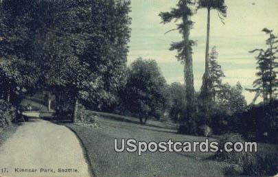 Kinnear Park - Seattle, Washington WA Postcard