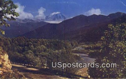 Mount Baker, Washington Postcard     ;      Mount Baker, WA