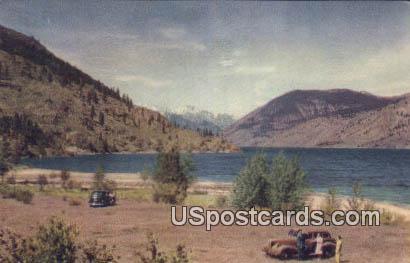 Highway 97 - Lake Chelan, Washington WA Postcard