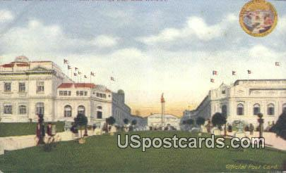 Exposition Seattle 1909 Puget Plaza - Washington WA Postcard