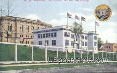 Exposition Seattle 1909 Auditorium, Administration - Washington WA Postcard