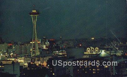 Queen Anne Hill - Seattle, Washington WA Postcard