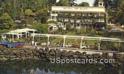 Hotel De Haro - Roche Harbor, Washington WA Postcard
