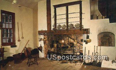 Family Kitchen - Mount Vernon, Washington WA Postcard