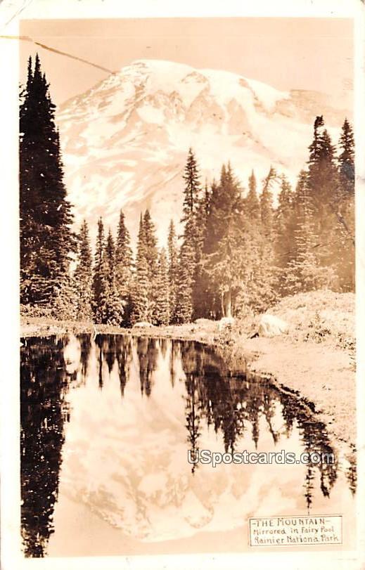 The Mountain - Rainier National Park, Washington WA Postcard