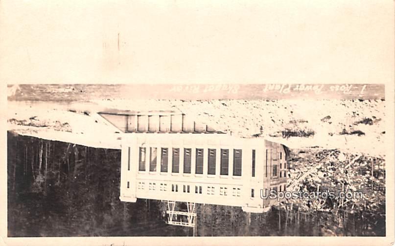 Ross Power Plant - Skager River, Washington WA Postcard