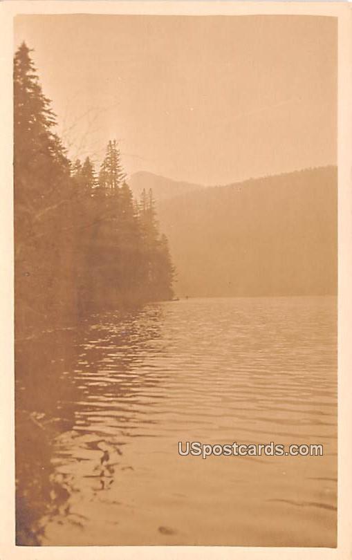 Lake View - Saddle Mountain, Washington WA Postcard
