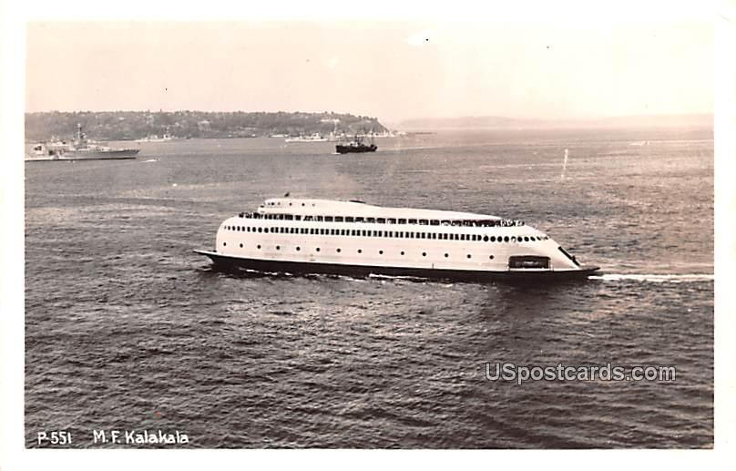 MF Kalakala - Seattle, Washington WA Postcard