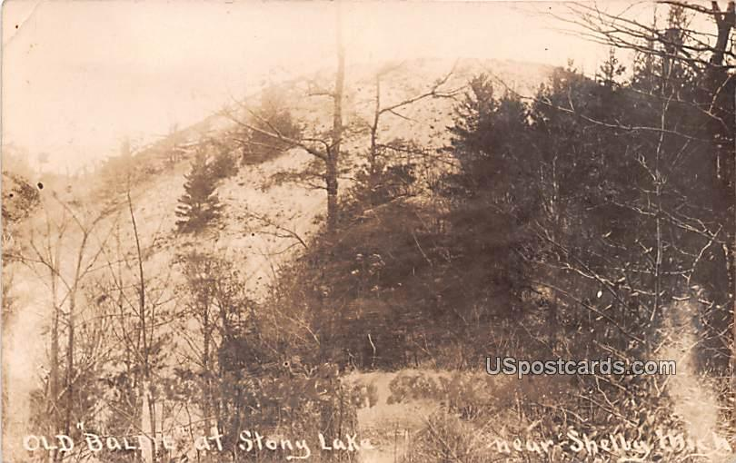 Old Baldys at Stony Lake - Shelby, Washington WA Postcard