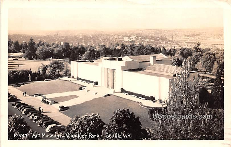 Art Museum - Seattle, Washington WA Postcard