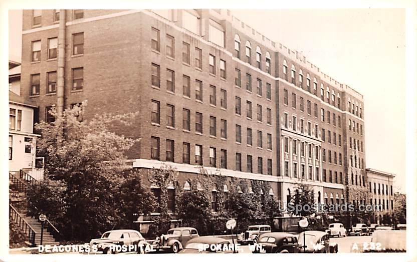 Deaconess Hospital - Spokane, Washington WA Postcard