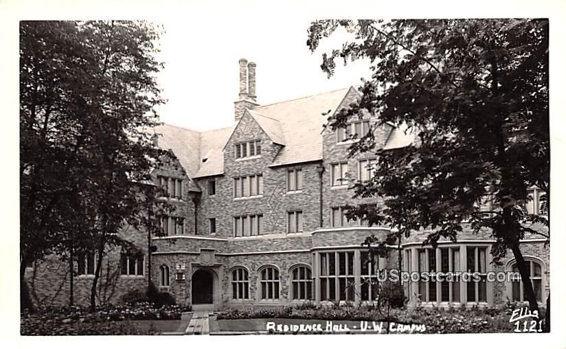 Residence Hall - Seattle, Washington WA Postcard