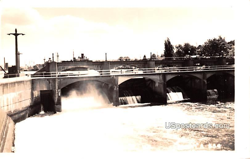 Spillway - Seattle, Washington WA Postcard