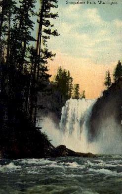 Snoqualmie Falls, Washington Postcard