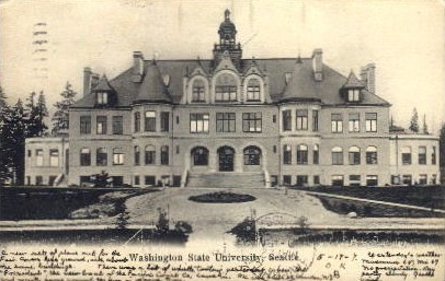 Washington State University - Seattle Postcard