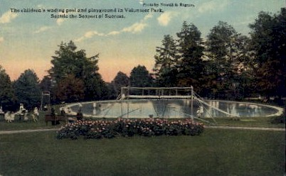 Volunteer Park - Seattle, Washington WA Postcard