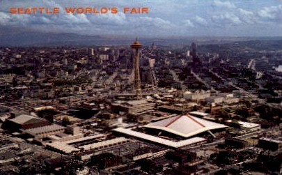 Seattle World's Fair - Washington WA Postcard