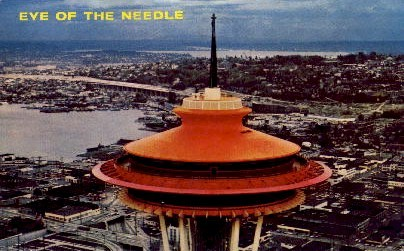 Eye Of The Needle - Seattle, Washington WA Postcard