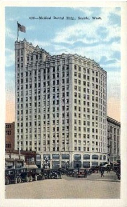 Medical Dental Building - Seattle, Washington WA Postcard