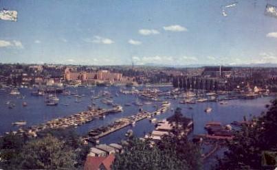 Portage Bay - Seattle, Washington WA Postcard