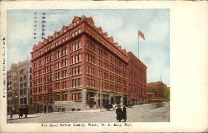 The Hotel Butler - Seattle, Washington WA Postcard