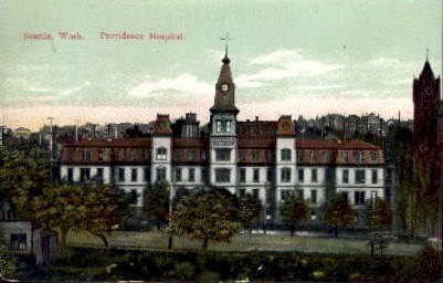 Providence Hospital - Seattle, Washington WA Postcard