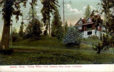 Denny Blaine Park - Seattle, Washington WA Postcard