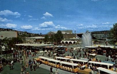 Public Square - Seattle, Washington WA Postcard