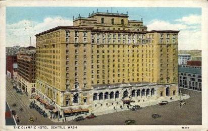 Olympic Hotel - Seattle, Washington WA Postcard