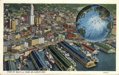 City View - Seattle, Washington WA Postcard