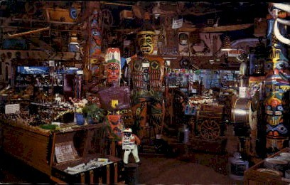 Ye Old Curiosity Shop - Seattle, Washington WA Postcard