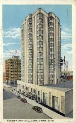 Edmond Meany Hotel - Seattle, Washington WA Postcard