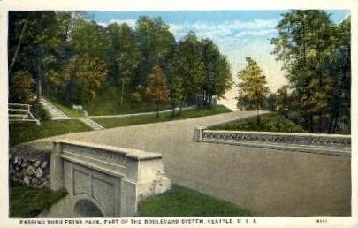 Frink Park - Seattle, Washington WA Postcard