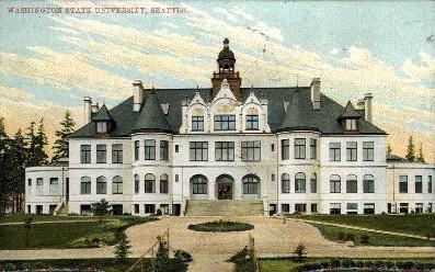 Washington State University - Seattle Postcard