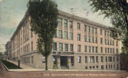 St. Francis Hotel - Seattle, Washington WA Postcard