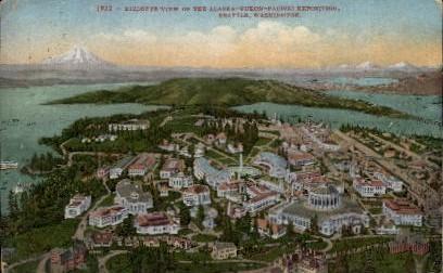Alaska-Yukon-Pacific Exposition - Seattle, Washington WA Postcard