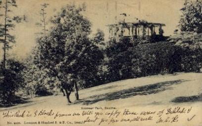 Kinear Park - Seattle, Washington WA Postcard