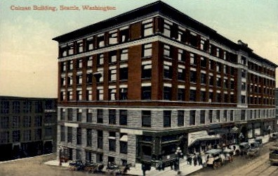 Colman Building - Seattle, Washington WA Postcard